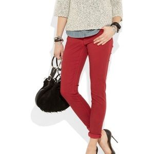Burberry Brit Mid Rise Skinny Jeans